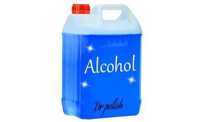 ניקיון עם אלכוהול